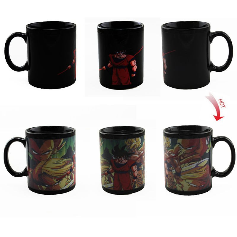 New Dragonball Z Color Changing Mugs