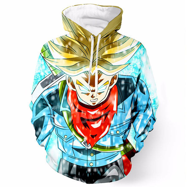 Cool Trunks Super Saiyan 3D Shirts