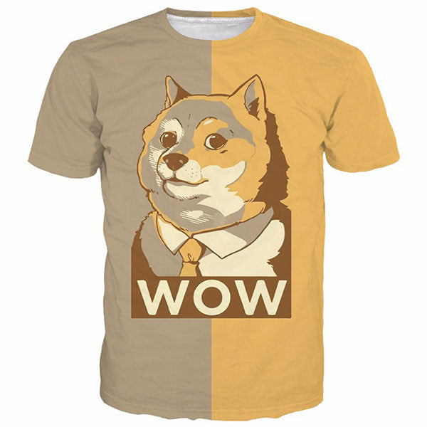 Cute Such WOW Doge 3D Shirts