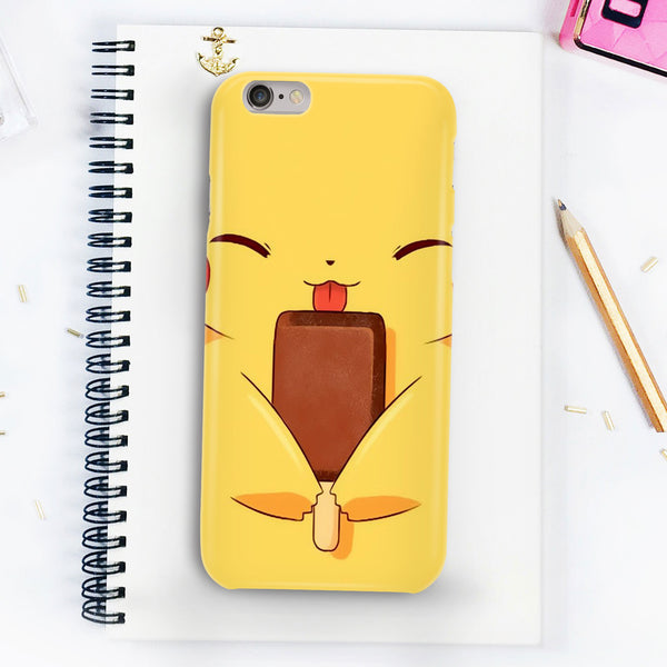 Pikachu Eating Cream Phone Case