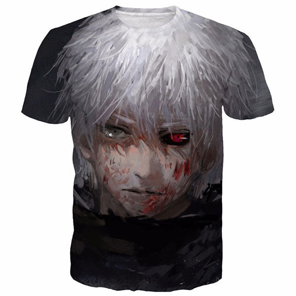 Classic Tokyo Ghoul Anime 3D Shirts