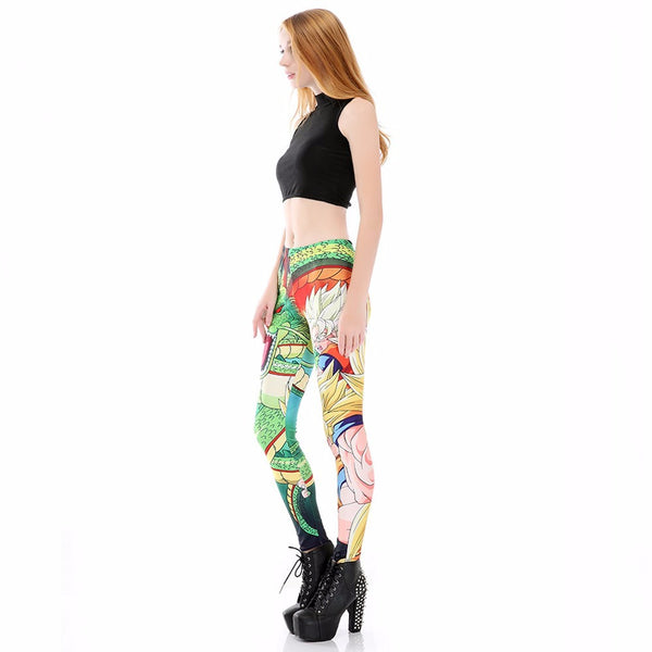 DBZ Shenron Women Leggings