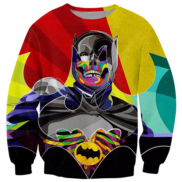 Batman Illustrated Printed Shirts