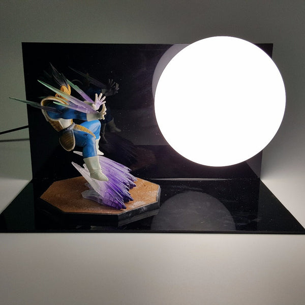 Vegeta Dragon Ball 3D Lamp