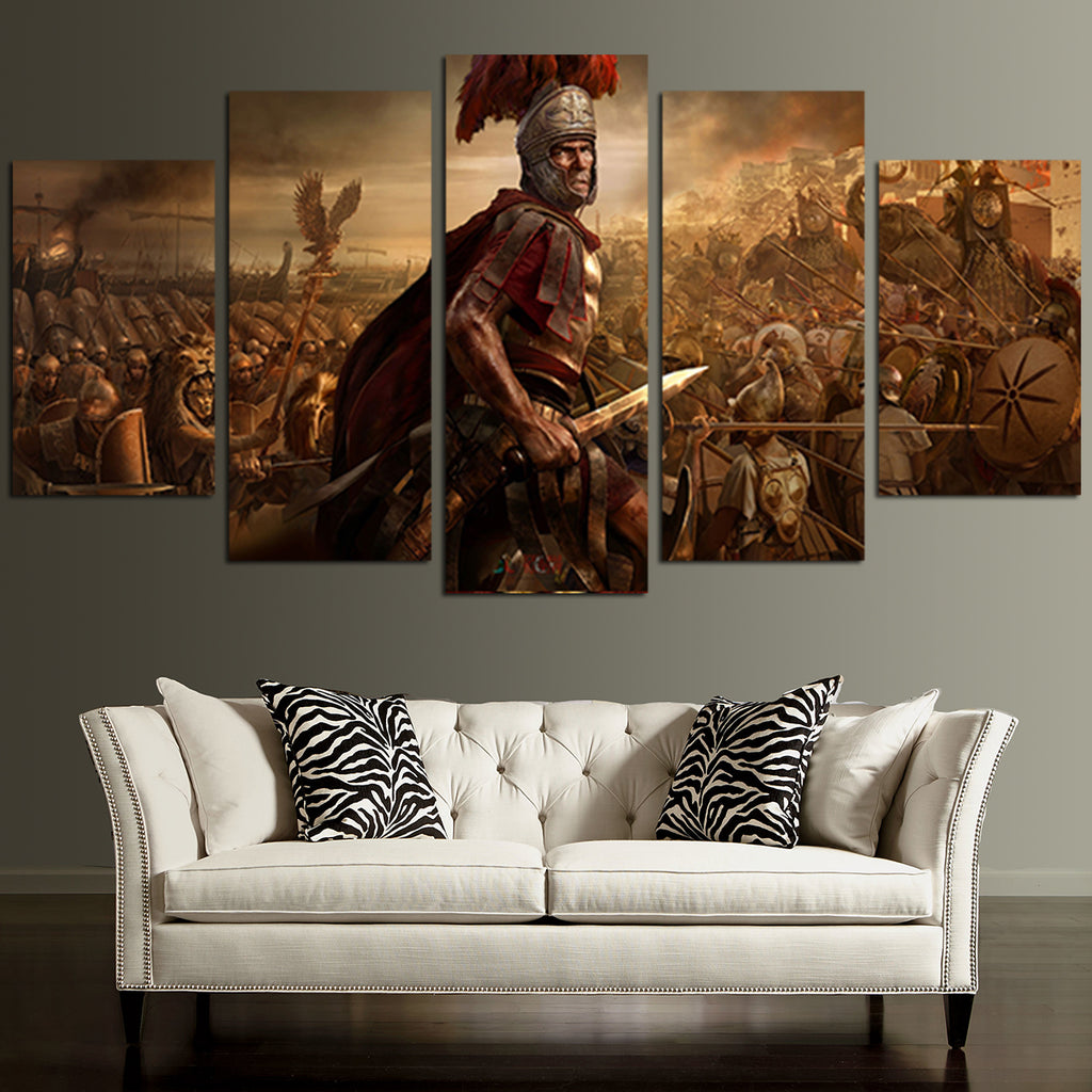 5 panel recenze total war rome ii wall art canvas u2013 aio hacks