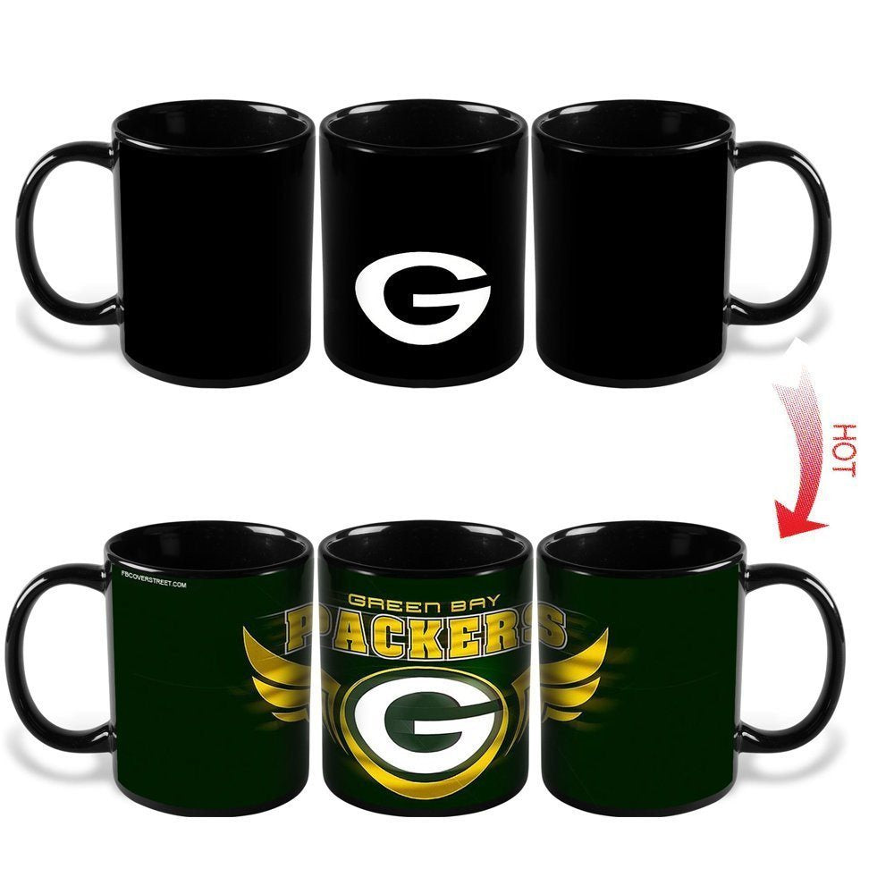 Green Bay Packer Color Changing Mugs
