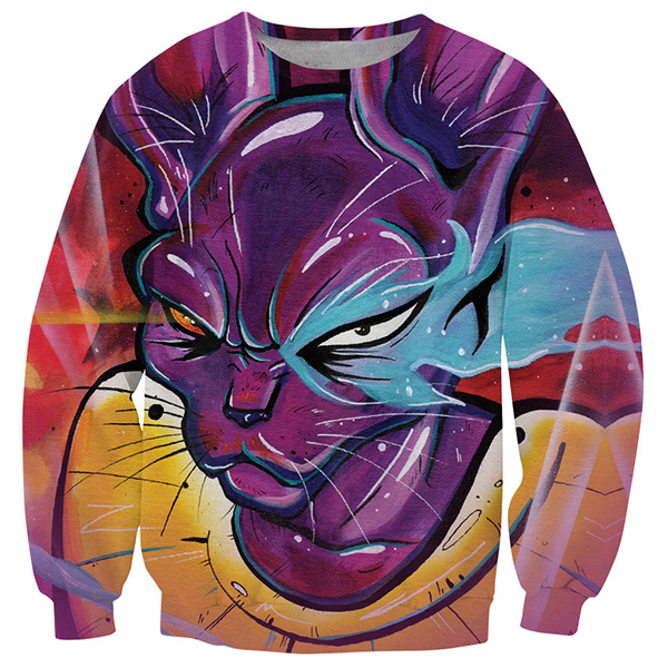 Dragon Ball Super Beerus Shirts
