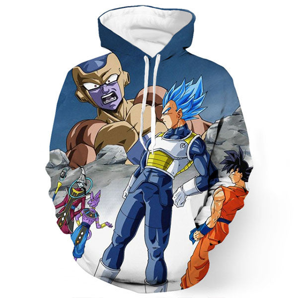 Frieza Vegeta Beerus And Whis 3D Shirts