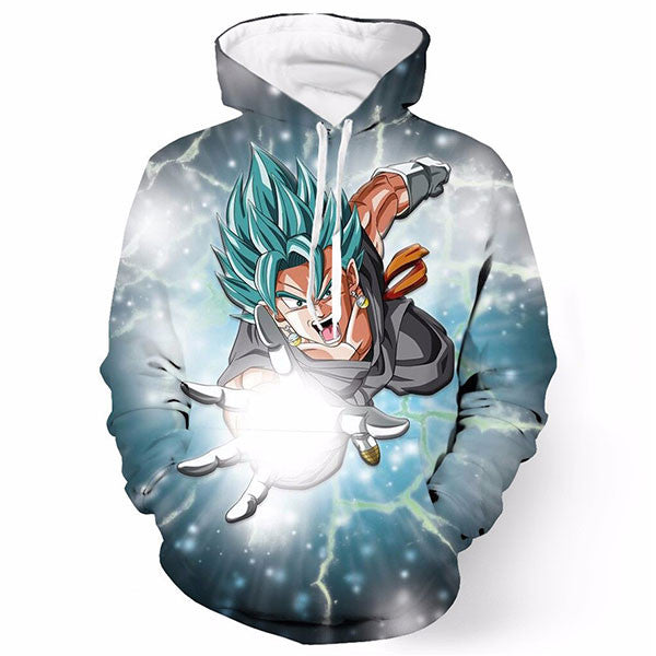 DBZ Goku Blue 3D Shirts