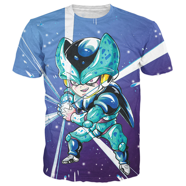 Blue Cell Kid Shirts