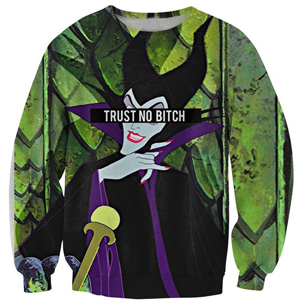 Trust No Bitch Maleficent Shirts