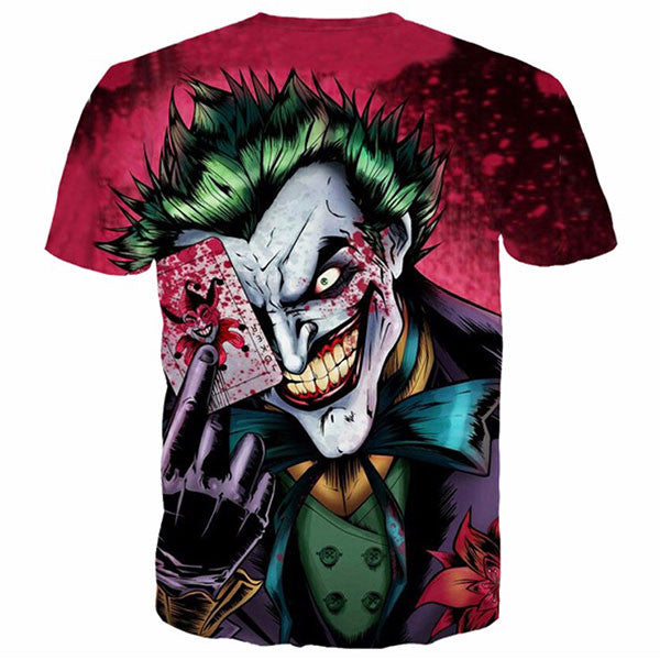 Joker Poker Printed Shirts
