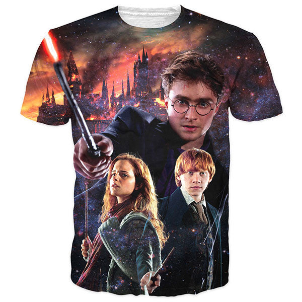 Harry Potter And His Hogwarts Friends Shirts
