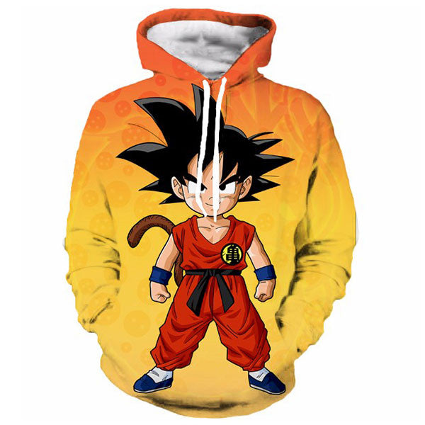 Goku Kid Yellow Shirts