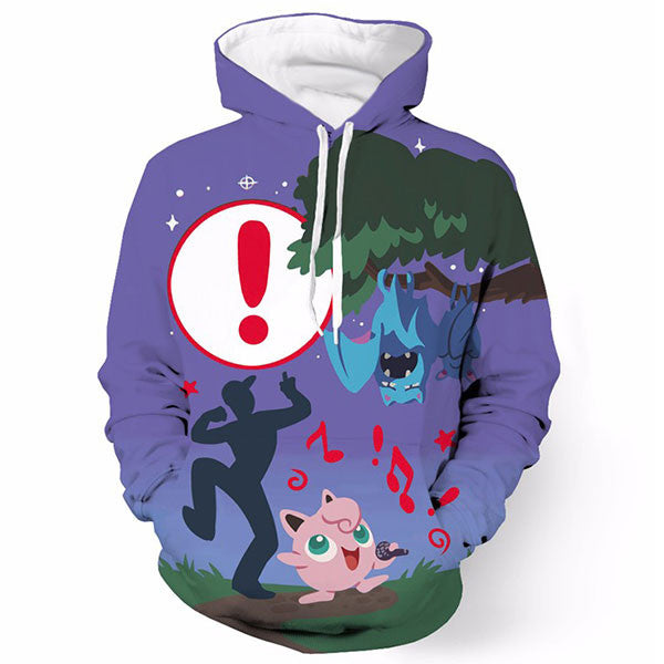 Pokemon Go Jigglypuff Singing Shirts