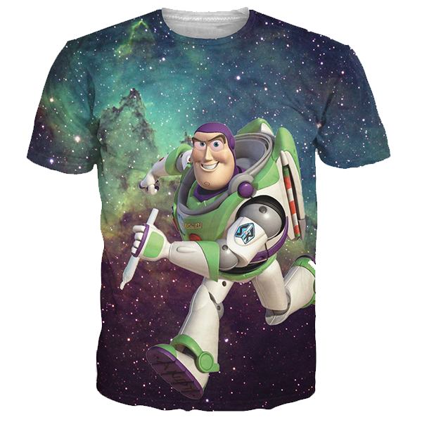 Galaxy Buzz 3D Printed Shirts