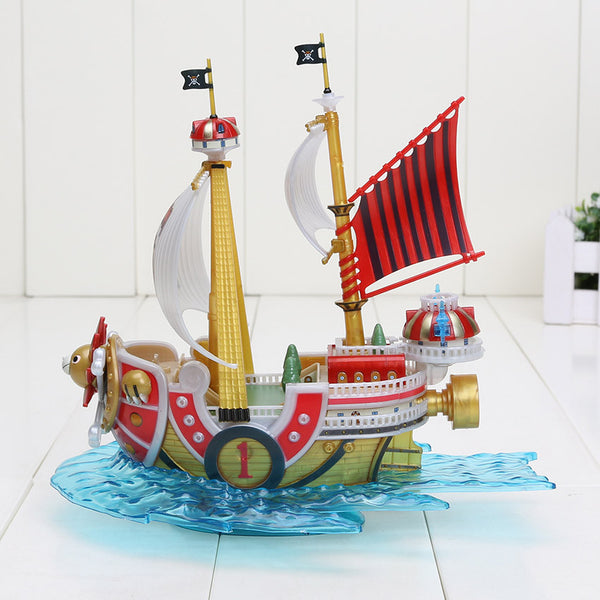 One piece 2 Years Later Thousand Sunny Pirate PVC Toy