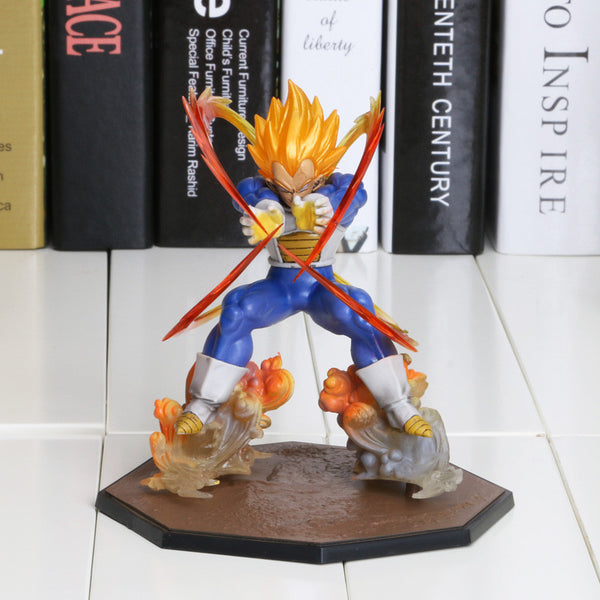 Dragon Ball Z Super Saiyan Vegeta Battle State Final Flash Toy