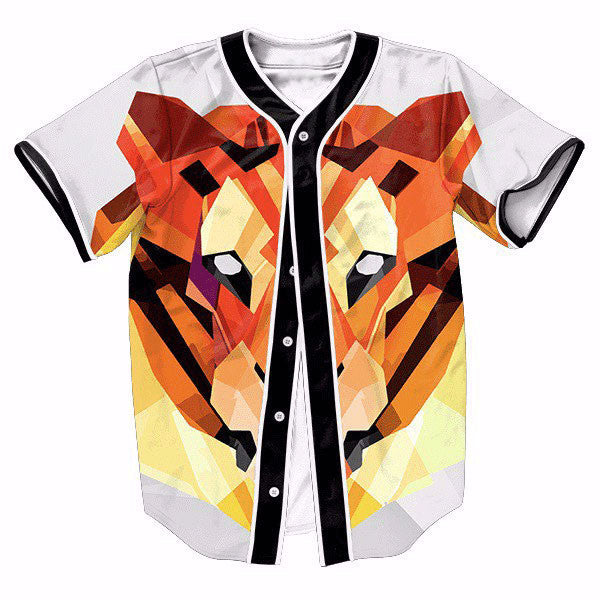 Tiger Head 3D New Shirts