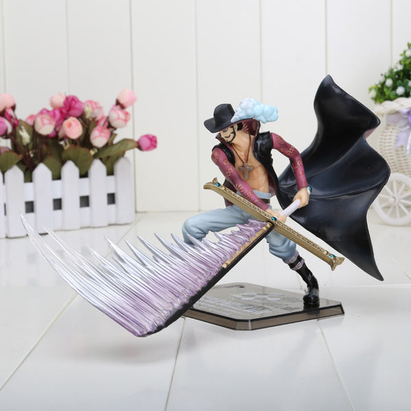 Anime One Piece POP Dracule Mihawk PVC Toy