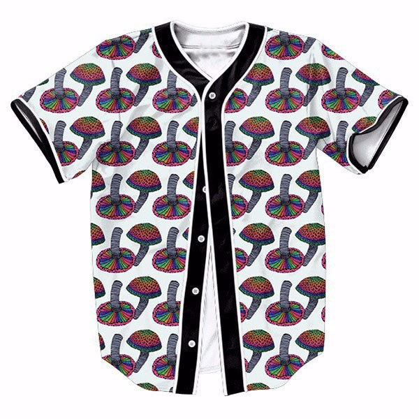 Poisonous Colorful Mushrooms New Shirts