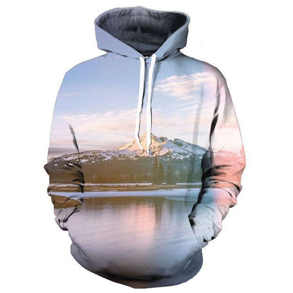Mountain And River 3D Shirts