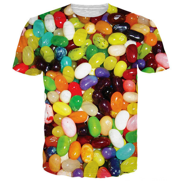 Colorful Jelly Beans Shirts