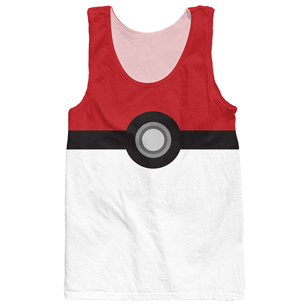 Pokeball 3D Tee Shirts