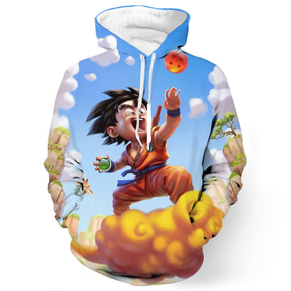 Goku Kid Printed Shirts