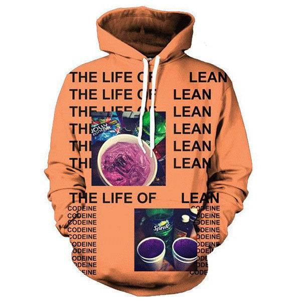 The Life Of Lean 3D Shirts
