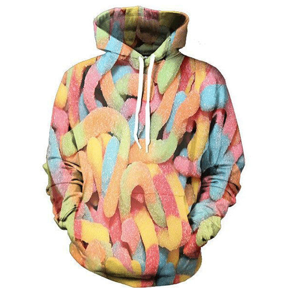Food Candy Gummy Worms Shirts