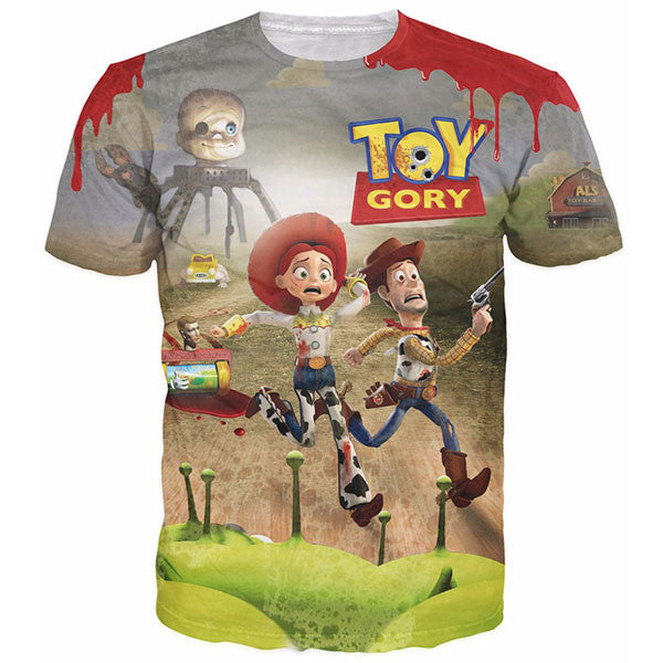 Toy Story's Woody Jessie Cowboys Shirts