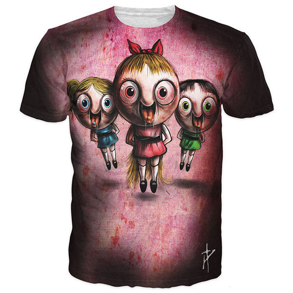 The PowerPuff Girls On Ecstasy Shirts