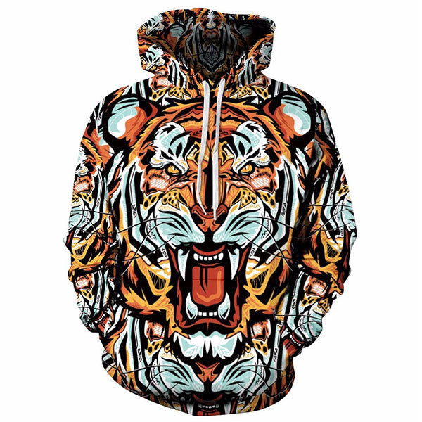 Tiger Face 3D Shirts