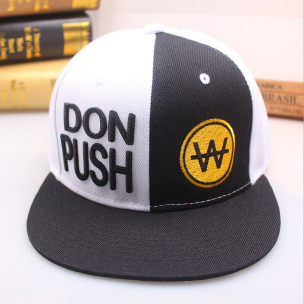 Don Push Embroidered Hat