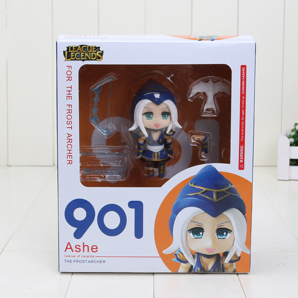 Game The Frost Archer Ashe Q Version PVC Toy