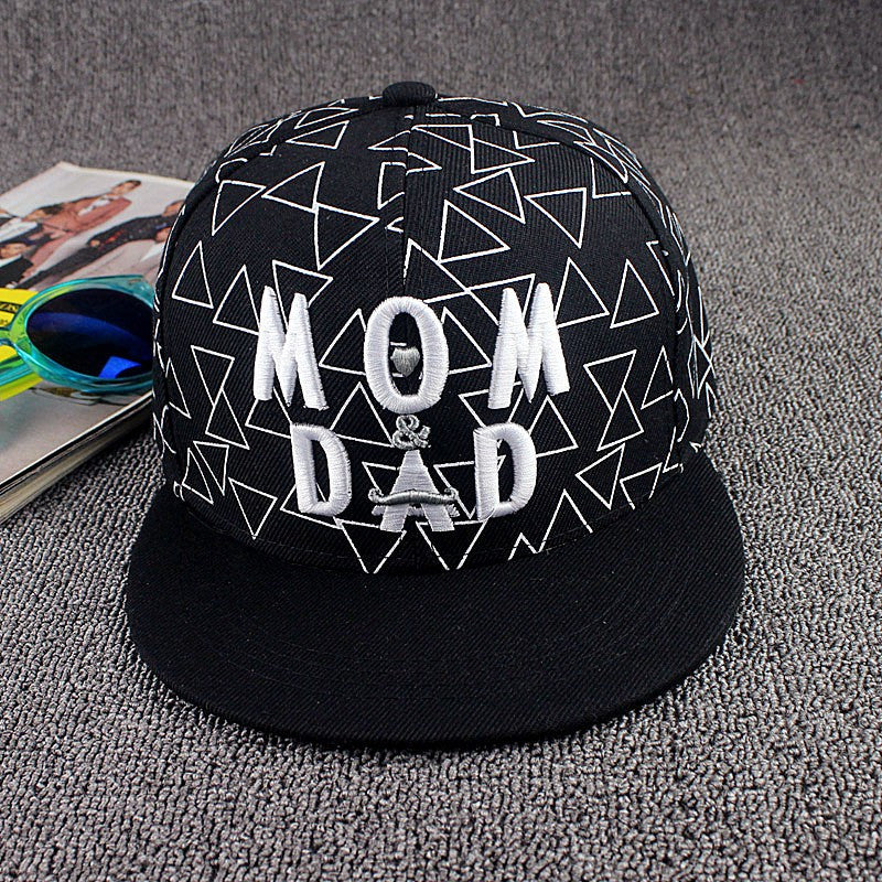 Mom And Dad Snapback Hat