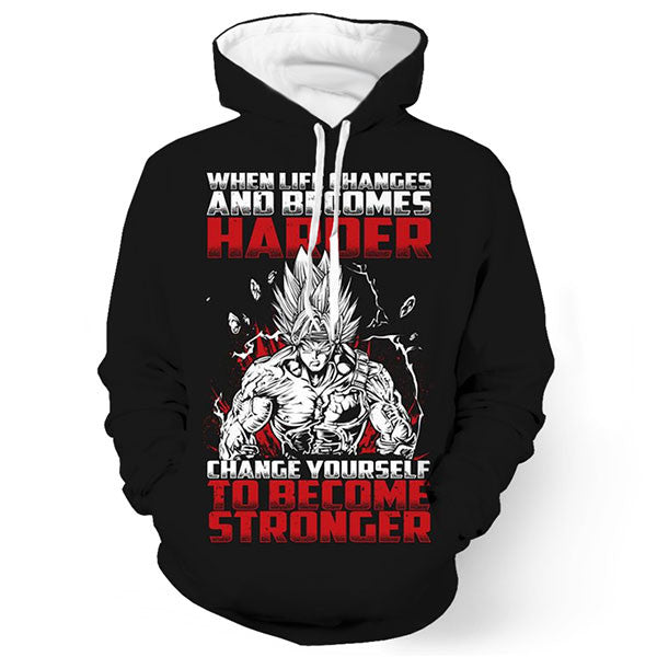 Change Yourself To Become Stronger 3D Shirts