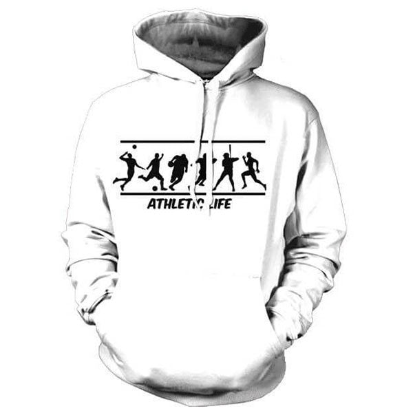 Athletic Life 3D Shirts