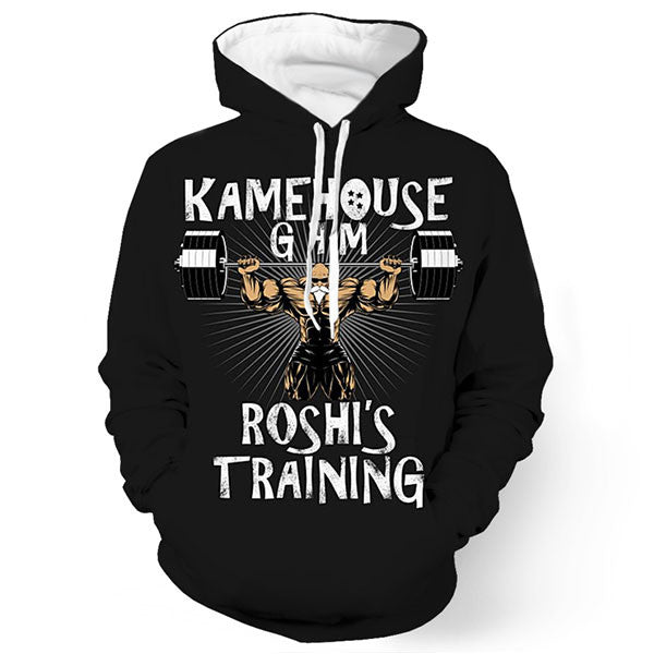 Kame House Gam Roshi's Training 3D Shirts