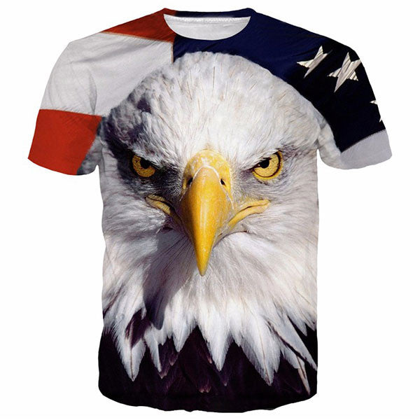 American Face Eagle 3D Shirts