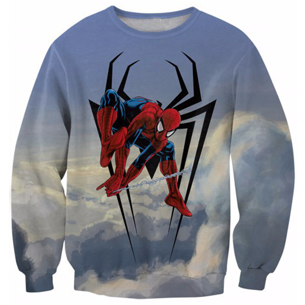 Spider Man Fly Printed Shirts