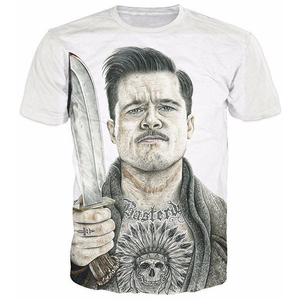 Lt. Aldo Raine Inglourious Basterds Shirts