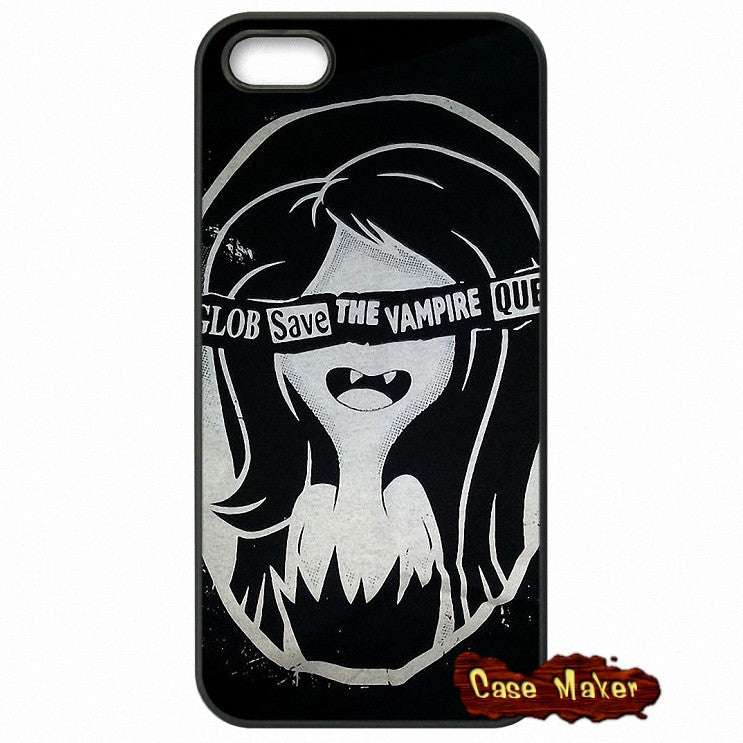 Advanture Time Marceline Black And White Phone Case