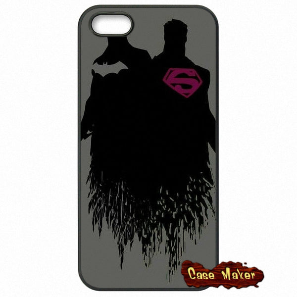 Batman And Superman Background Phone Case