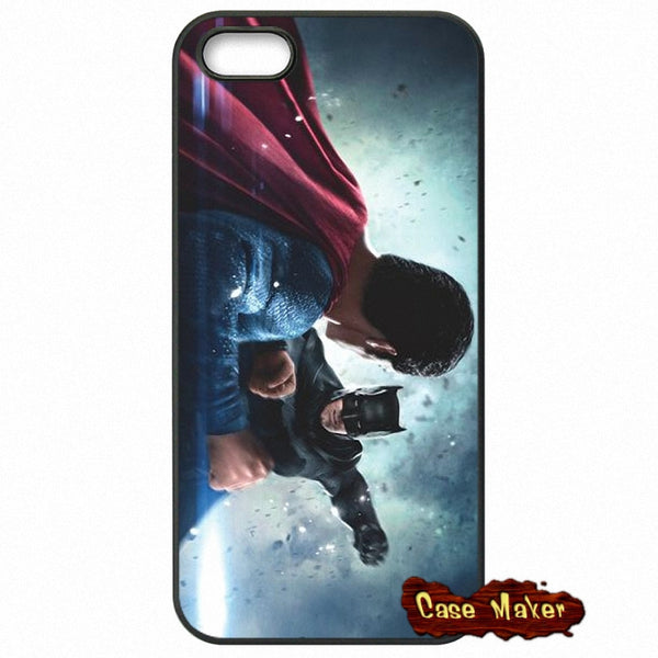 Batman And Superman Fight Phone Case