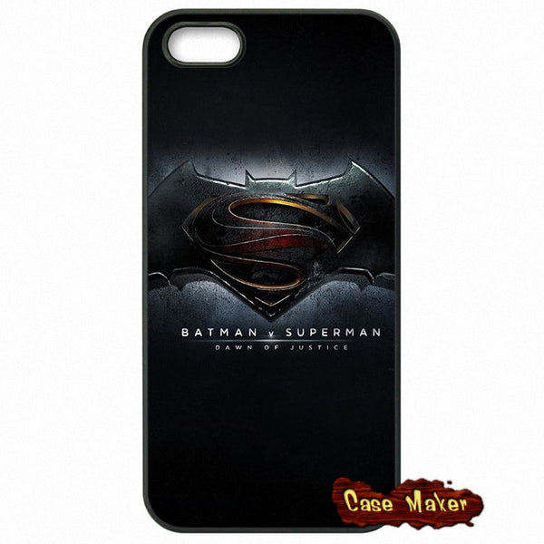 Batman And Superman Logo Phone Case