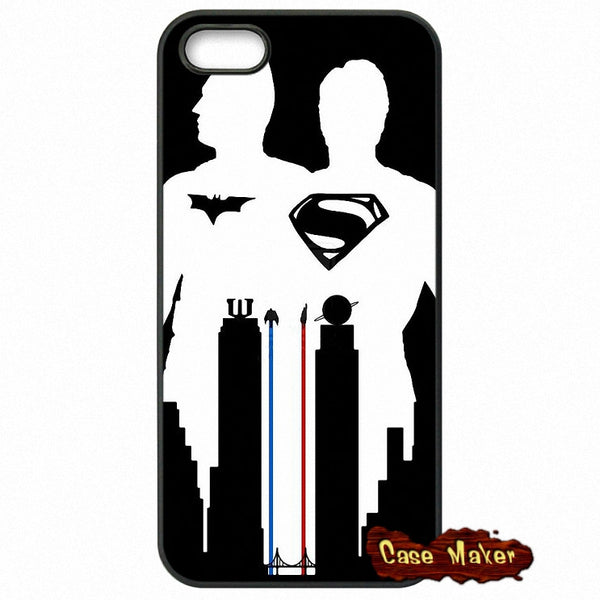 Batman VS Superman Black White Phone Case