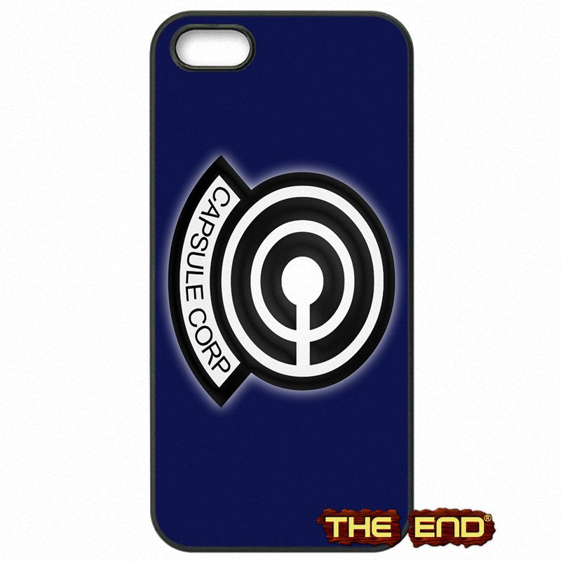 Dragon Ball Z Capsule Corp Dark Blue Phone Case