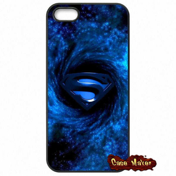 Blue Superman Logo Phone Case